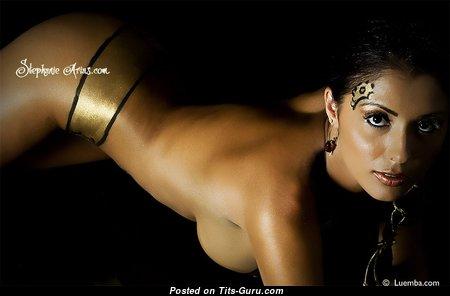 Stephanie Arias - Marvelous Undressed Brunette (Hd Sex Image)
