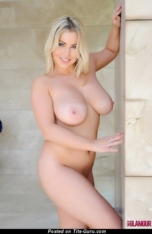 Image. Lyla Ashby - sexy naked blonde with big natural breast picture