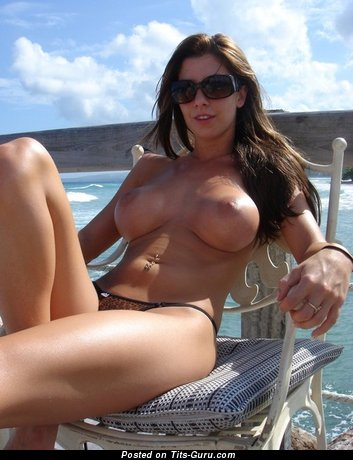 Good-Looking Lassie with Good-Looking Open Silicone Substantial Boobs (Sexual Foto)