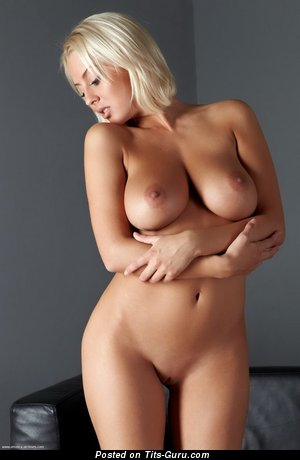 Image. Naked nice lady with big natural boob photo