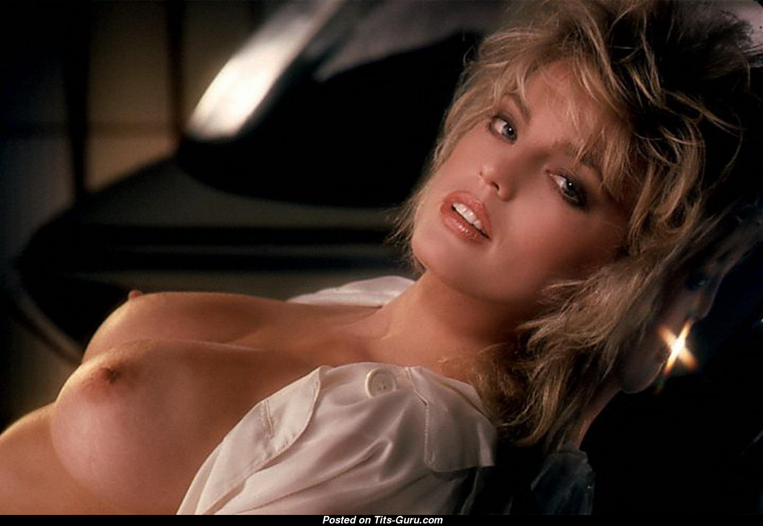 American Beauty Topless lynne austin - topless playboy blonde babe with bare medium