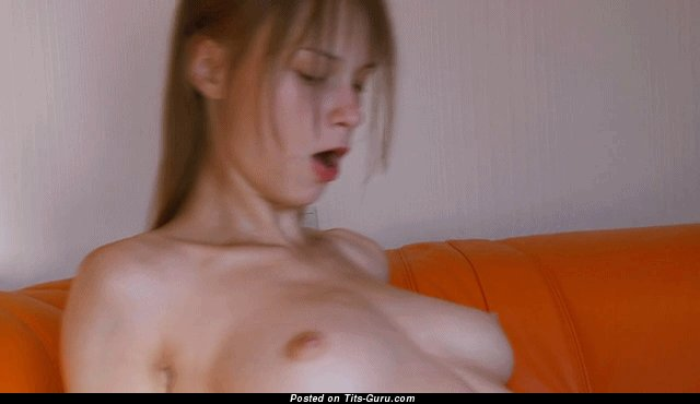 Image. Amateur awesome woman with big natural breast gif