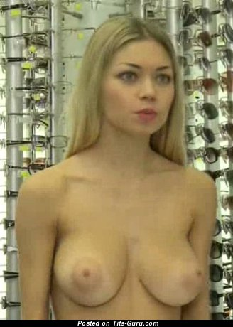 Image. Alina Burachenko - naked beautiful girl with medium natural tittys image