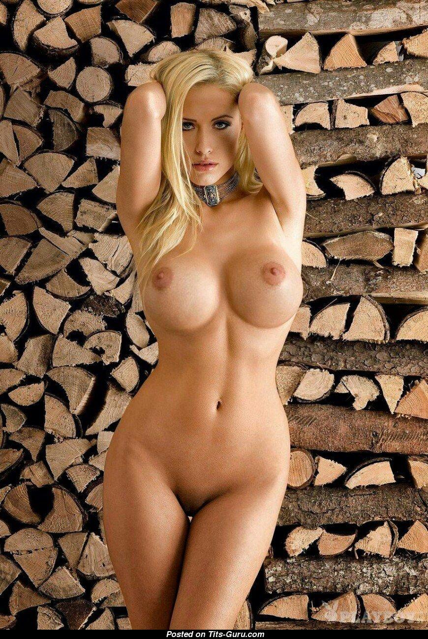Alena Gerber - Blonde With Bare Tight Tit Porn Foto 1505