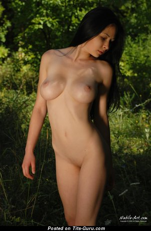 Zarema - Delightful Russian Babe with Delightful Bald Natural H Size Titties (Hd Sex Picture)