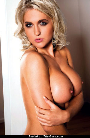 Image. Naked wonderful girl with big fake tittes image