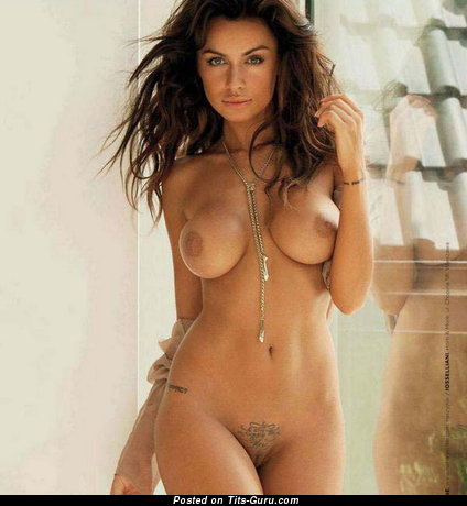 Image. Naked beautiful woman with big boob image