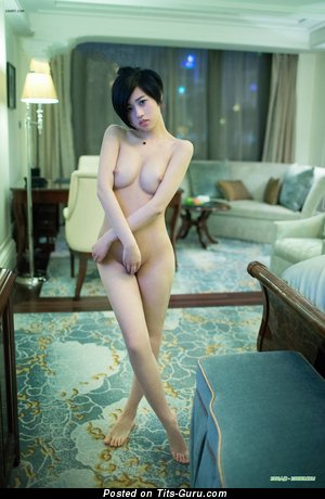 Image. Lina - nude asian with big natural boob picture