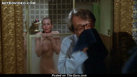 Image. Nude wonderful girl with natural breast vintage
