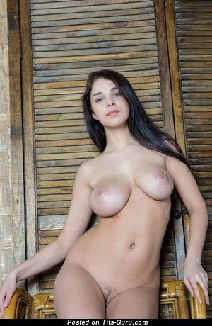 Nude awesome female with big natural tittys photo