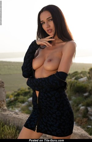 Perfect Undressed Brunette Babe (Hd Sexual Photoshoot)