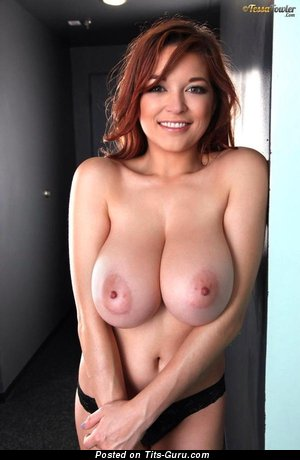 Image. Tessa Fowler - amazing woman with huge natural boob photo