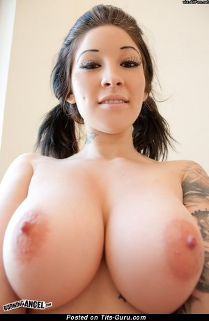 Angel Blaze - Sexy American Brunette Babe with Sexy Open Ddd Size Tits (Sex Pix)