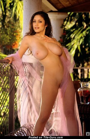 Miriam Gonzalez - The Best Puerto Rican, American Playboy Woman with The Best Nude Real Mega Boobie (Xxx Photo)