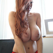 Beautiful woman with big tittes image