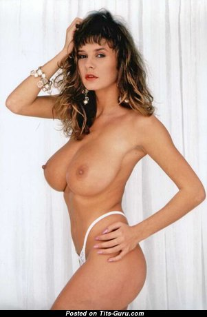 Donna Ewin: sexy nude brunette with natural tits photo