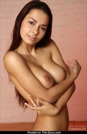 Image. Margo - naked amazing girl with medium natural boobies image