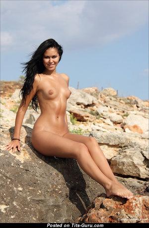 Gorgeous Undressed Brunette (Hd Porn Photo)