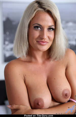 Nicole Vice - Handsome Topless Czech Brunette with Handsome Exposed Real Average Hooters (Hd Sex Image)
