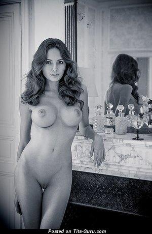 Image. Naked hot woman with big fake tittes image