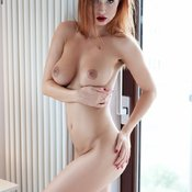 Justyna - beautiful woman with piercing picture