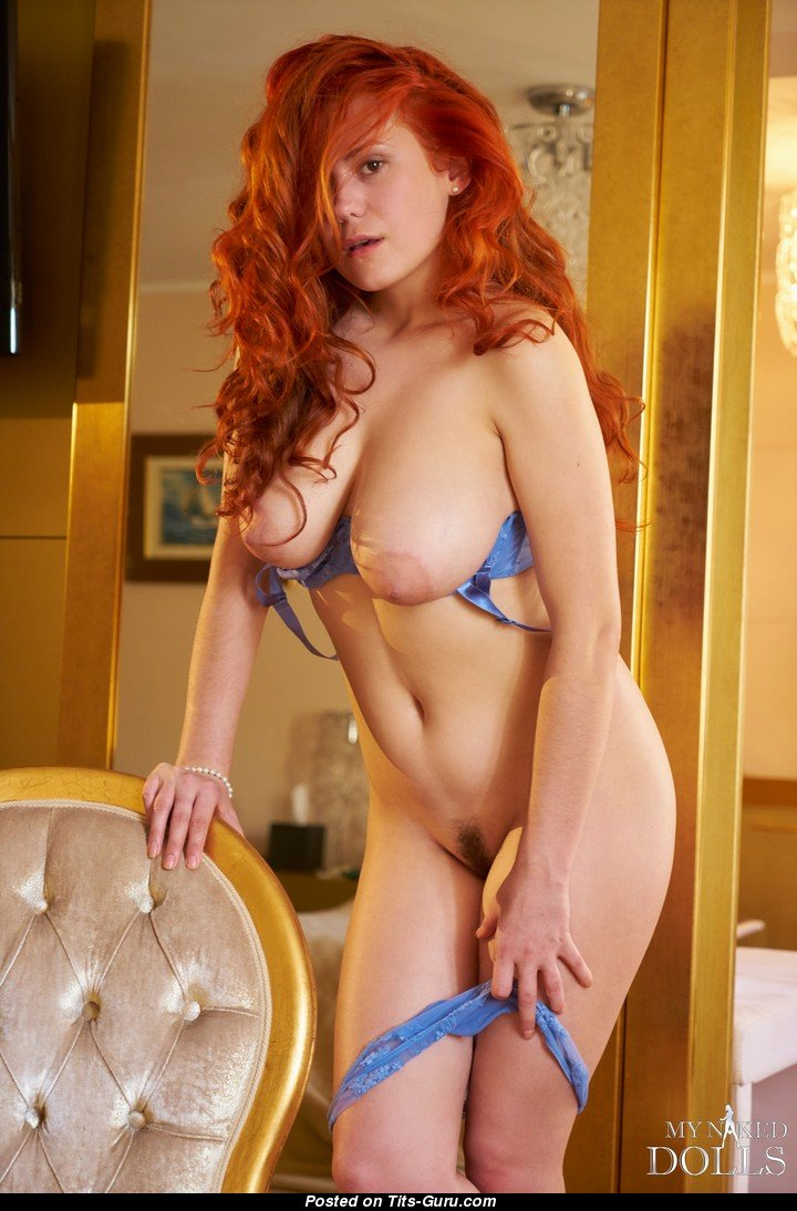 red hair big tits
