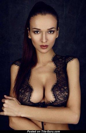 Anastasia Martzipanova - Pleasing Non-Nude Russian Brunette Babe (Xxx Pic)