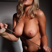 Blonde with big breast pic