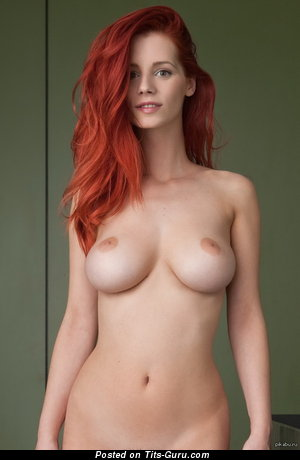 Dazzling Floozy with Pretty Naked Sizable Titties (Sex Image)