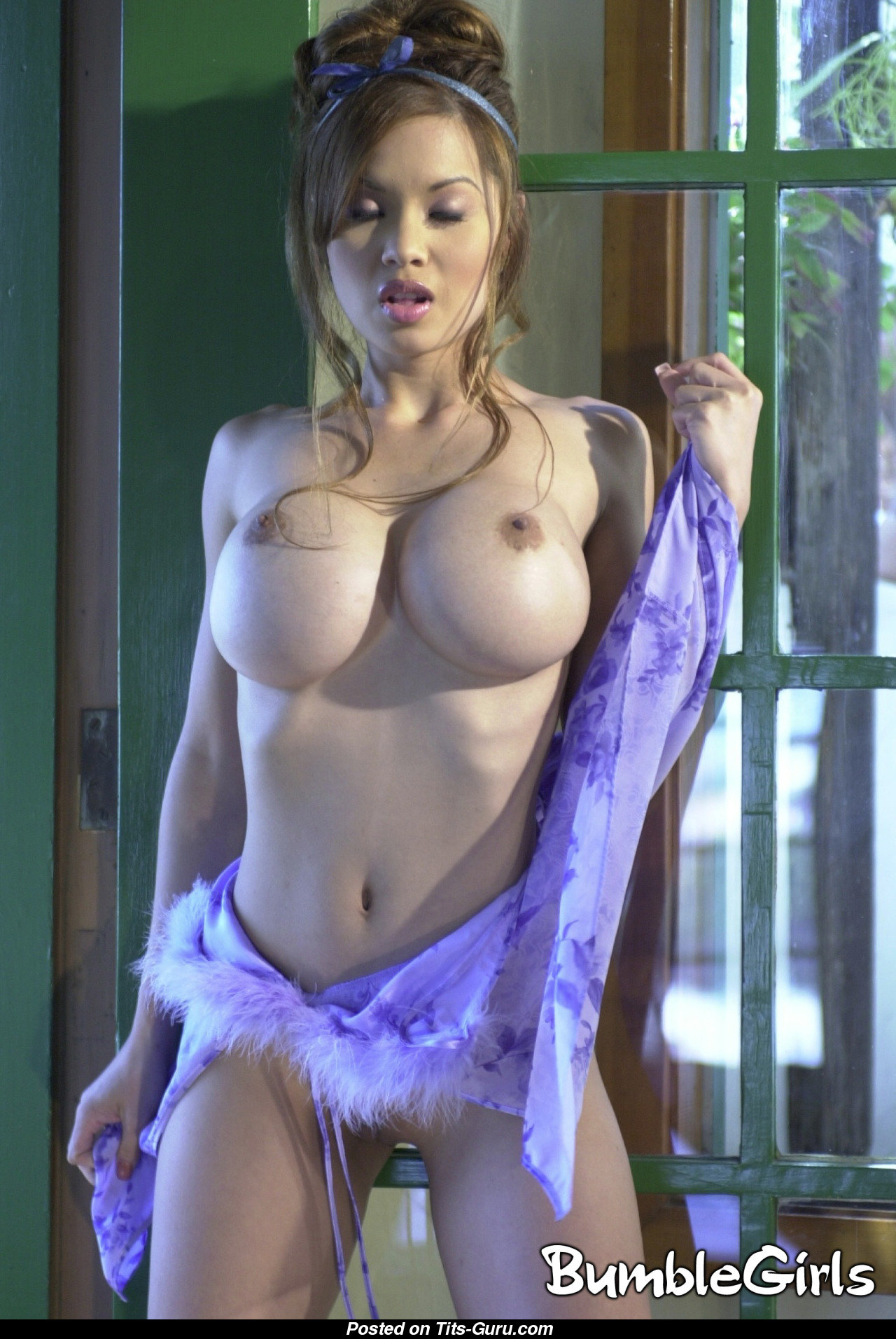 Sexy girls flashing their boobs