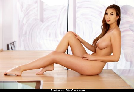 Image. Connie Carter - sexy naked awesome girl with medium natural tots pic