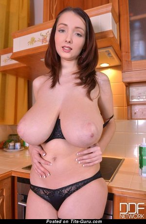 Image. Lucy - nude nice woman with big natural tittes picture