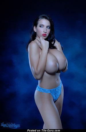 Jana Defi Aka Maria Swan Aka Pricessa - Hot Brunette Babe with Hot Open Full Chest (Hd 18+ Wallpaper)
