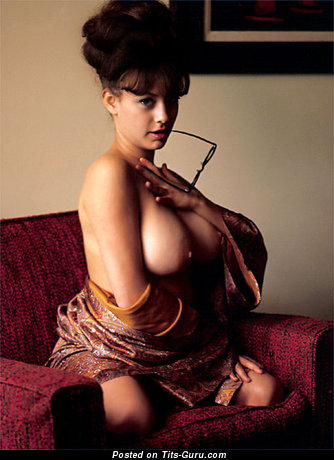 Image. Fran Gerard - nude awesome girl with big natural boobies vintage