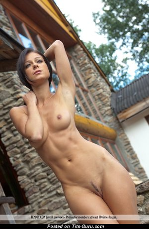Image. Melisa - naked beautiful girl with medium natural tittys pic