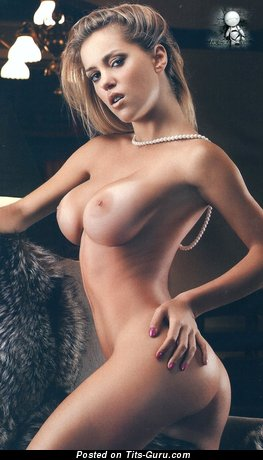 Mariana Diarco - Pretty Argentine Blonde with Pretty Exposed Sizable Knockers (Hd Sexual Photo)