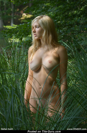 Image. Daniela Rosch - sexy topless blonde picture