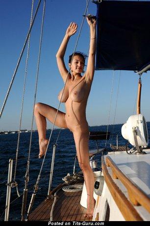 Image. Naked awesome girl with medium tits photo