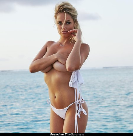 Genevieve Morton - Marvelous South African Blonde Babe with Marvelous Open Natural Tits (Hd Sexual Wallpaper)