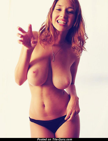 Image. Hot female with big tots pic