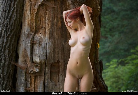 Image. Ariel - nude amazing lady with medium natural boobies photo