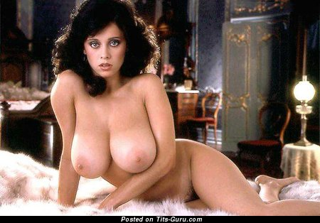 Image. Patricia Farinelli - nude brunette with big natural boob vintage