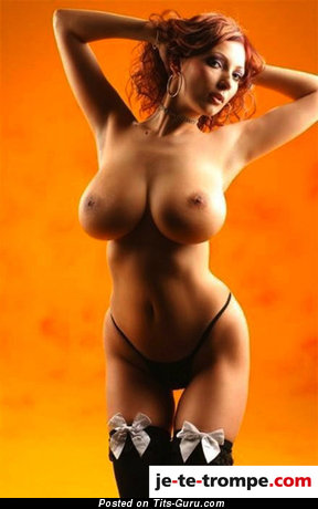 Image. Nude wonderful lady with huge tits picture