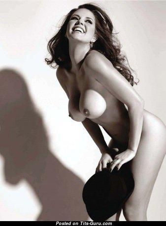Alicia Machado - Delightful Venezuelan Red Hair Actress with Delightful Open Silicone Soft Tittys (Sex Pix)