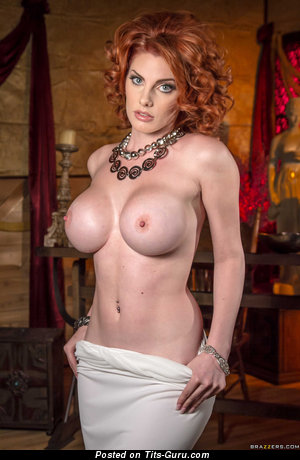 Lilith Lust - Grand French, American Red Hair with Grand Bald Silicone Regular Busts (Sex Picture)