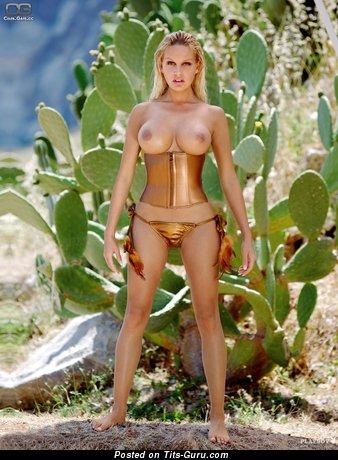 Image. Gina Lisa Lohfink - sexy nude blonde with big boobs photo