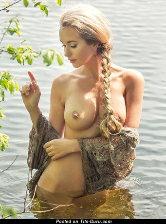 Image. Naked awesome lady with medium tittys photo