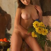 Katia Galitsin - awesome woman with big natural breast photo