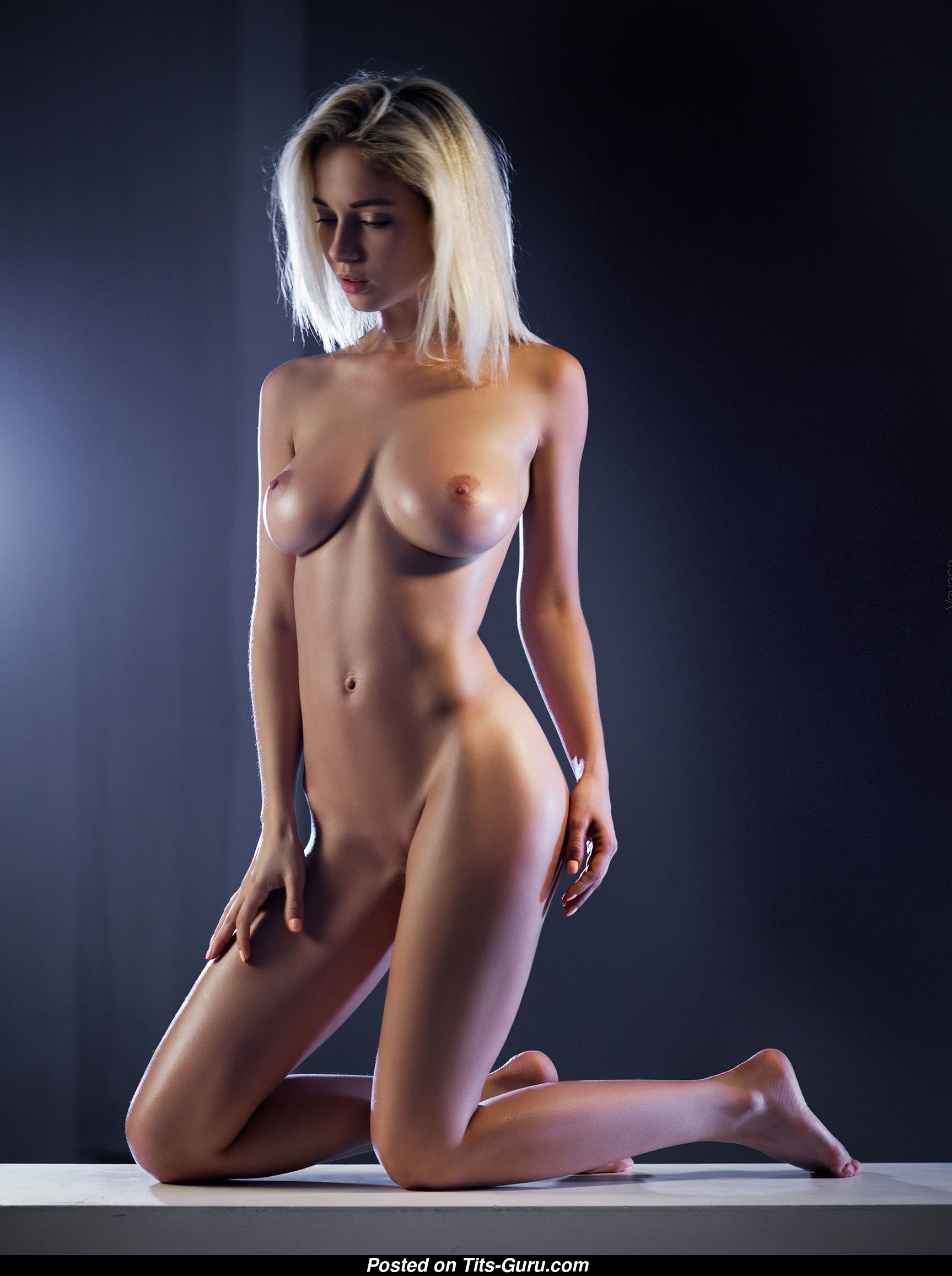 Natalia Andreeva - Topless & Glamour Blonde with Big ...