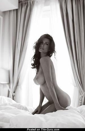 Nelleke Verkaart - topless wonderful female with medium natural tots picture